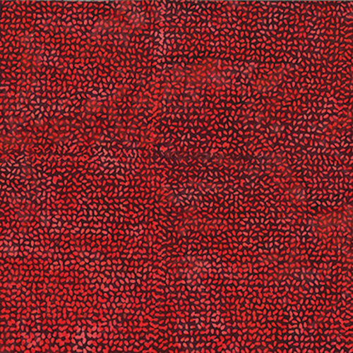 Hoffman Batik Tela 3362-402 Rojo-por 1//4 Metro