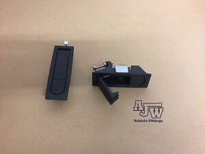 4pcs Compression Latch Lever Lock for Horsebox Trailers Locker Doors Box