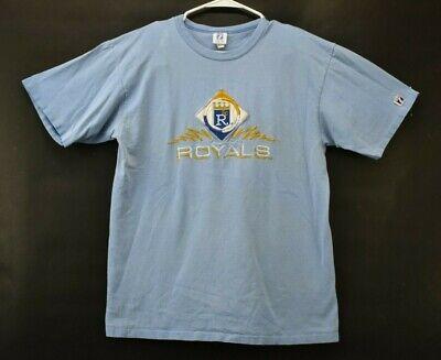 Vintage 1980s Kansas City Kc Royals Logo 7 Mens Large Single Stitch T Shirt Ebay