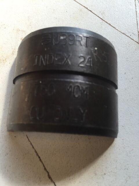 U39ART2 U Crimping Die for Aluminum 750 kcmil Black Burndy