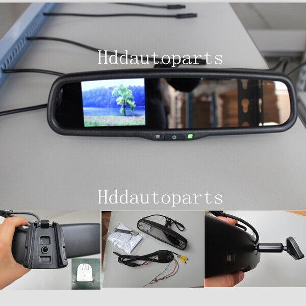 normaler Spiegel,Auto Rückfahrsystem 9 cm LCD Rückspiegel Monitor m.