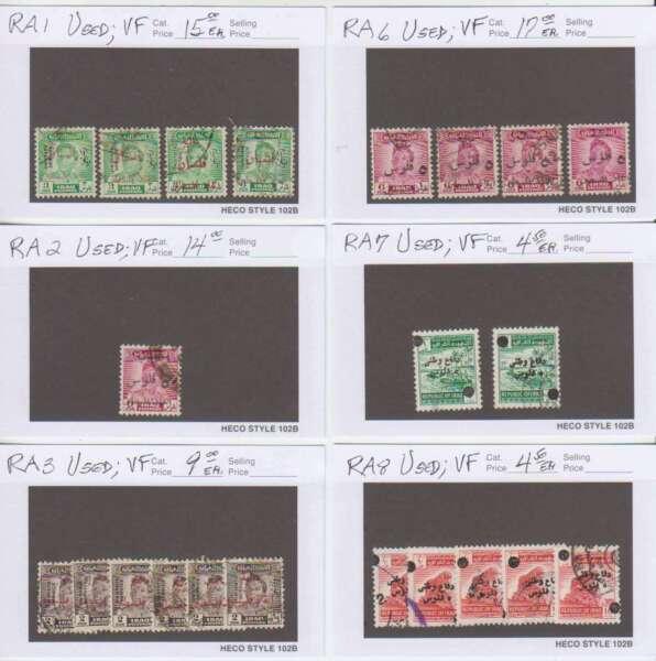 A4823: L'irak Postal Timbres Fiscaux Lot; Cv $264