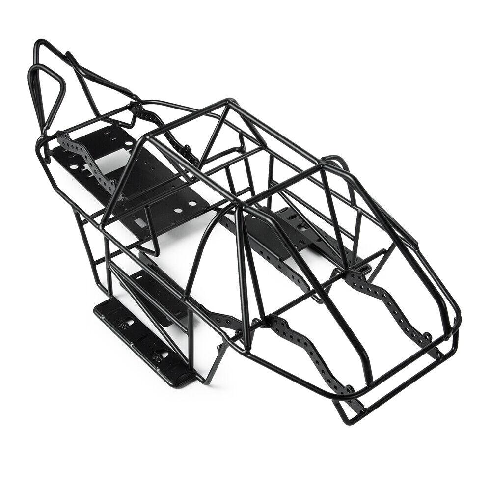 TELAIO in acciaio corpo ROLL CAGE & Ricevitore Box per SCX10II 90046 1/10 RC auto Crawler