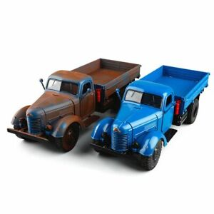 Metal Model 1:32 Vintage Truck Scale Die Cast Vehicles Collectible Miniature New