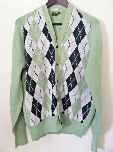 Vintage 50's cardigan Marshall Fields sweater men