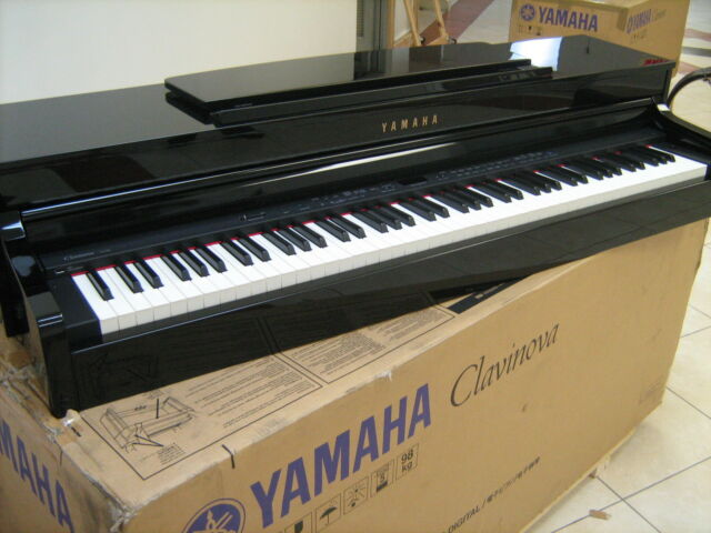yamaha clp340pe digital piano clavinova clp 340 pe keyboard workstation for sale online ebay. Black Bedroom Furniture Sets. Home Design Ideas
