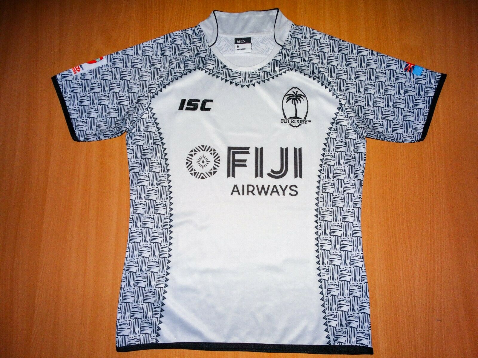 FIJI RUGBY ISC 2018 2019 shirt SEVENS SERIES Jersey M Oceania Australia 18 19