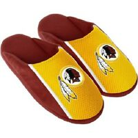 Pair Washington Redskins Jersey Slide Slippers Team Color House Shoe Jrs16 Style