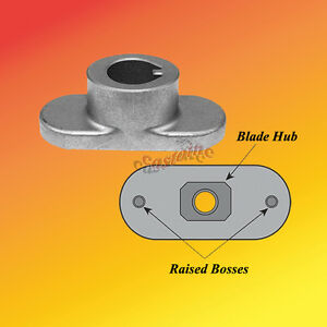 Rotary 14580 Blade Adapter Fits Mtd Blades Walkbehind