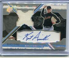 2003 SPx Kurt Ainsworth Auto Jersey 662/1460 RC