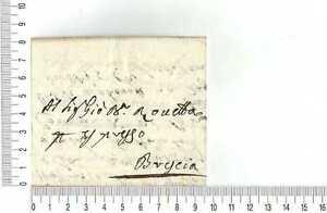 12270) Prefilatelica Stampless - 5 APR 1813 Salò Brescia