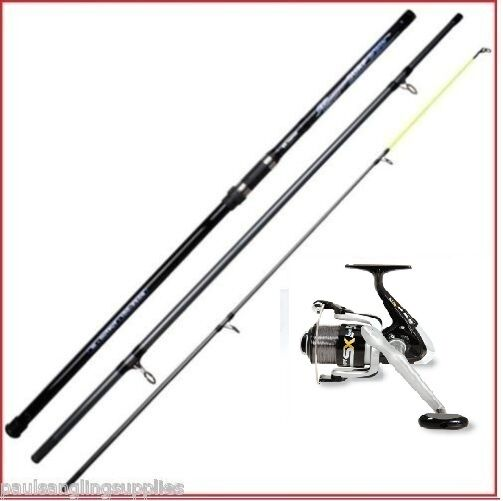 13 ft Shakespeare Beach Rod & Vigor SX70 Reel Beachcaster Surf Sea Fishing Rod