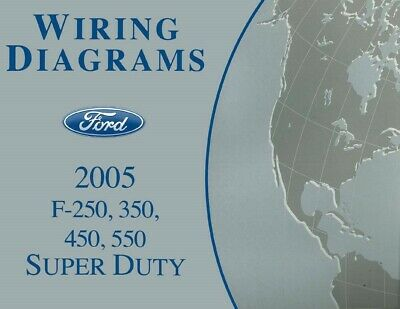 2005 Ford F250-F550 Super Duty Truck Electrical Wiring Diagrams Schematics  OEM 667952870732 | eBay | Ford F250 Wiring Schematic |  | eBay