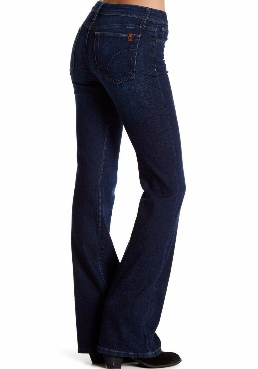 NWT JOE'S WOMEN Sz26 THE ICON FLARE MIDRISE STRETCH JEANS ANDERS blueE