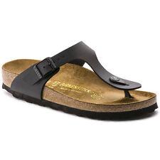 Birkenstock Gizeh Sandal, Black, Regular Fit, Size 40, NWT