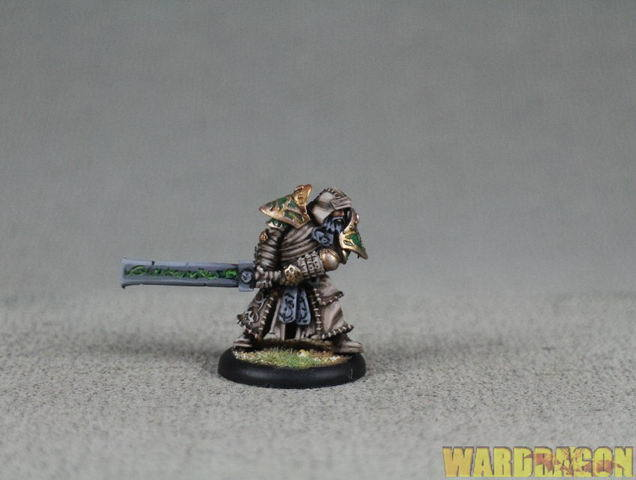 30mm Hordes WDS painted Circle Orbgolds Baldur the Stonecleaver h24