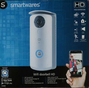 Smartwares-WiFi-Videosprechanlage-mit-HD-Kamera-Ubertragung-auf-Smartphone