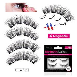 Magnetic-Lashes-Double-Wispies-False-Fake-Eyelashes-Wispies-No-Glue-Needed