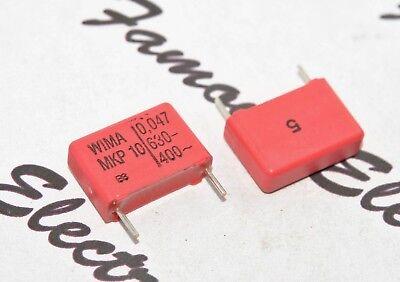 400V 5/% pitch:10mm Capacitor WIMA MKS4 0.047uF 0,047uF 10pcs