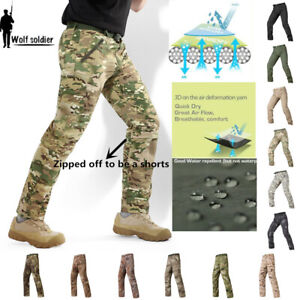 Herren Tactical Military Hose Army Camouflage Combat Cargo Pants Freizeit Hiking