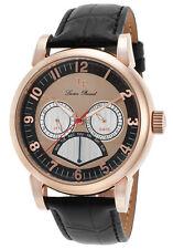 Lucien Piccard Montana Retrograde Day Mens Watch LP-15051-RG-01