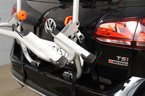 05/>11 Heckklappenfahrradträger für 2 Räder Aguri Advans 2 für MERCEDES B W245