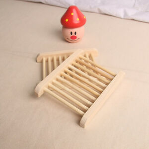 Natural-Wood-Soap-Tray-Holder-Dish-Storage-Bath-Shower-Plate-Home-Bathroom-Wash