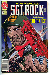 Sgt-Rock-Special-14-DC-1991-NM-Joe-Kubert-Enemy-Ace-Our-Army-At-War-153