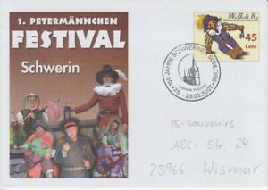 Wismarer-Letter-and-Courier-Service-Stationery-Schwerin-Petermannchen-Festival