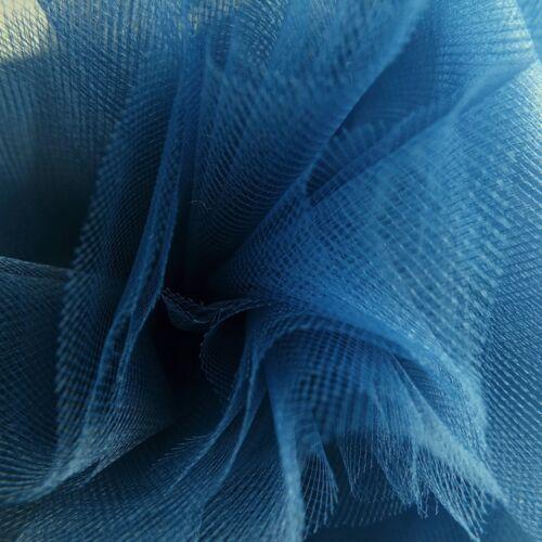 Marineblau Fein Tüll Stoff 300cm Breit von der M Braut Abschlussball