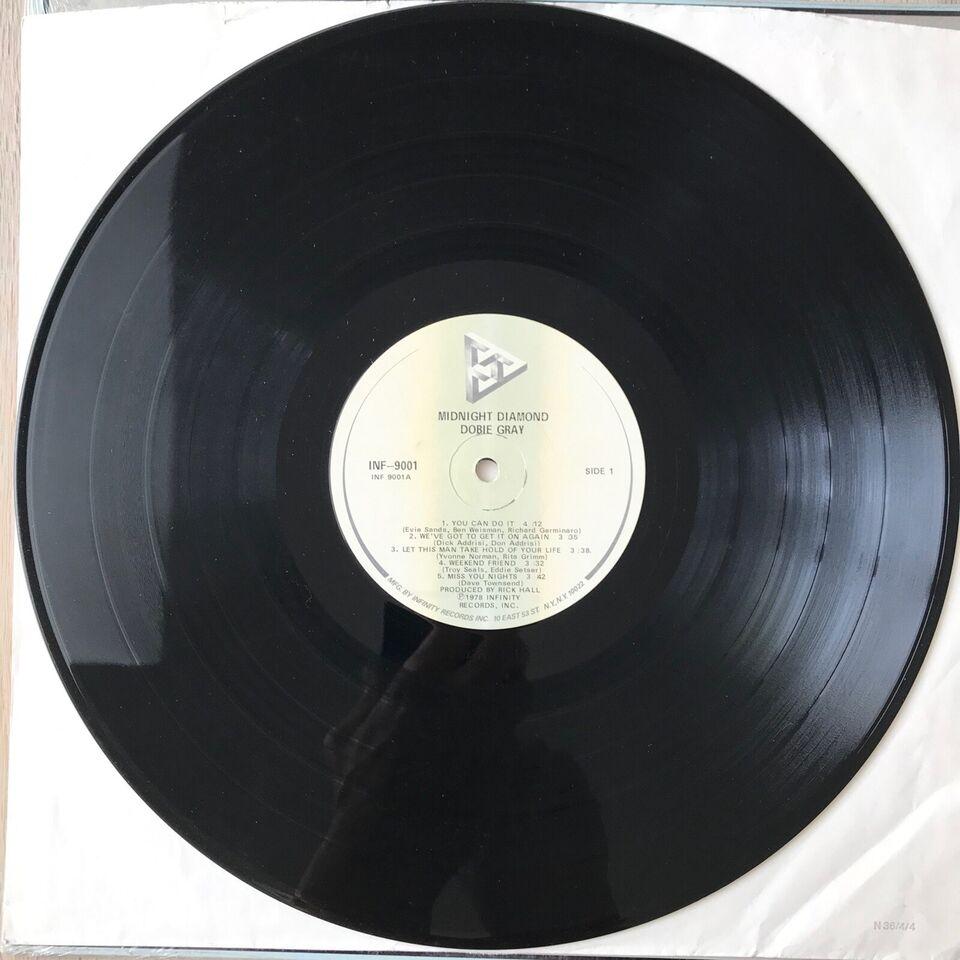 LP, Dobie Gray, Midnight Diamond
