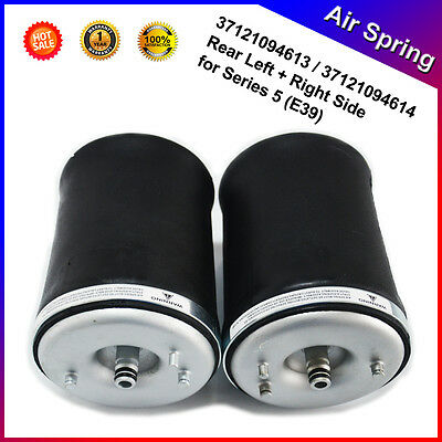 1 Pair For BMW 5 Series E39 Touring Rear Air Suspension Spring Bag---OE Quality