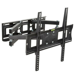 Support mural tv muraux pivotant et inclinable 32 40 42 46 50 52 55  66-138cm