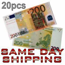 20pcs Souvenir Collectible €50 Euro Bank Note Bill Joke Uncirculated