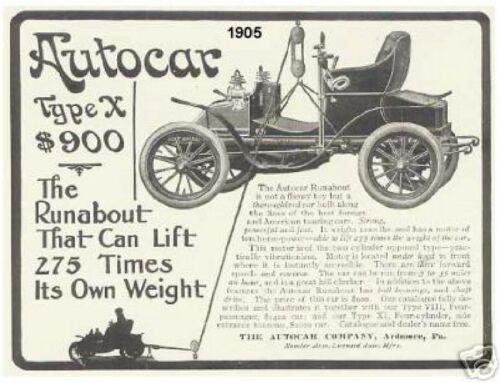 1905 Auto Car Refrigerator Magnet