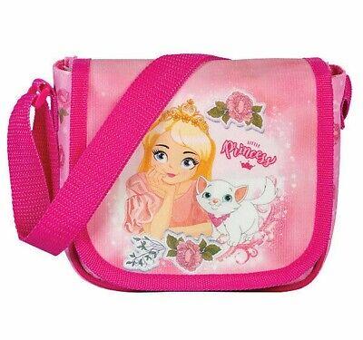 Prinzessin Kindergartentasche Rosa 20x14x20cm 20587-2100 Koffer, Taschen & Accessoires