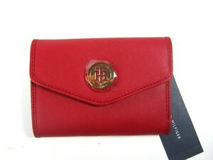 Tommy-Hilfiger-Women-039-s-Flap-Wallet-Clutch-Imitation-Leather-New-NWT