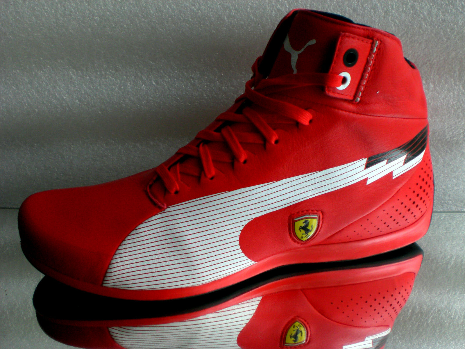 Original Puma Ferrari Gr: Speed Mid Men Sneaker TurnLaufschuh Stiefel Gr: Ferrari 39-42 +Bag 122a76