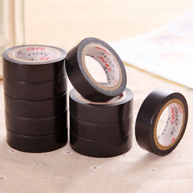 1Roll Heat Resistant Electrical Power Insulating Wire Harness 10M Cable Tape ne