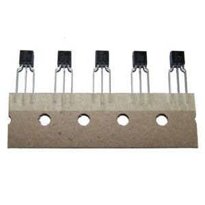 Pack of 5 BC550B NPN Low Noise Silicon Transistors 10 20 or 50