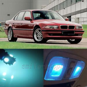19 X Ice Blue Canbus Led Interior Light Kit For Bmw 7 Series E38 740i 750i 95 01 Ebay