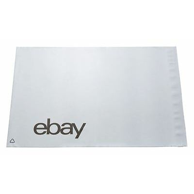 eBay Branded Strong Self Seal Plastic Poly Mailing Postage Bags 250 x 345mm