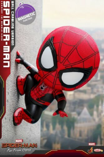 Hot Toys COSB630 Spider-Man Far From Home COSBABY Wall Edition MINI Figure Toys
