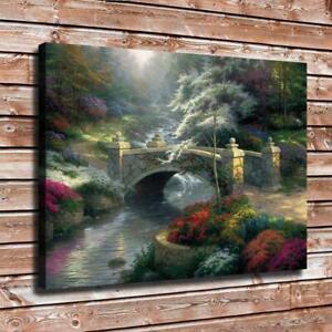 Thomas Kinkade paintings HD Canvas printed Home decor painting room Wall art 16