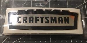 Craftsman-vintage-1950-s-60-s-decal-tool-box-Crown-Black-On-Chrome-3-1-2-2for1