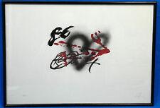 Lithografie, Antoni Tapies handsign, 70/75, Coeur et fleche, Heart and Arrow