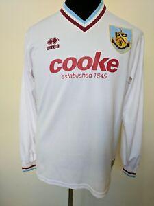 9f6f1b7009a 2009 2010 Errea Burnley away football shirt jersey long sleeve size ...