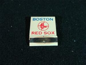 1965-Boston-Red-Sox-Matchbook-w-schedule-NM-Mint