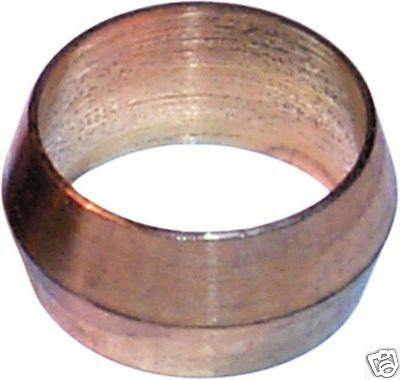 10x Laiton Olive Tonneau Plomberie compression Qualité Tuyau Cuivre Gaz Eau Air
