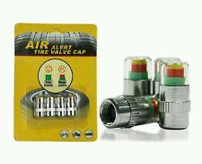 Car Auto Tire Pressure Monitor Valve Stem Cap Sensor Indicator Warning 36psi 4pc